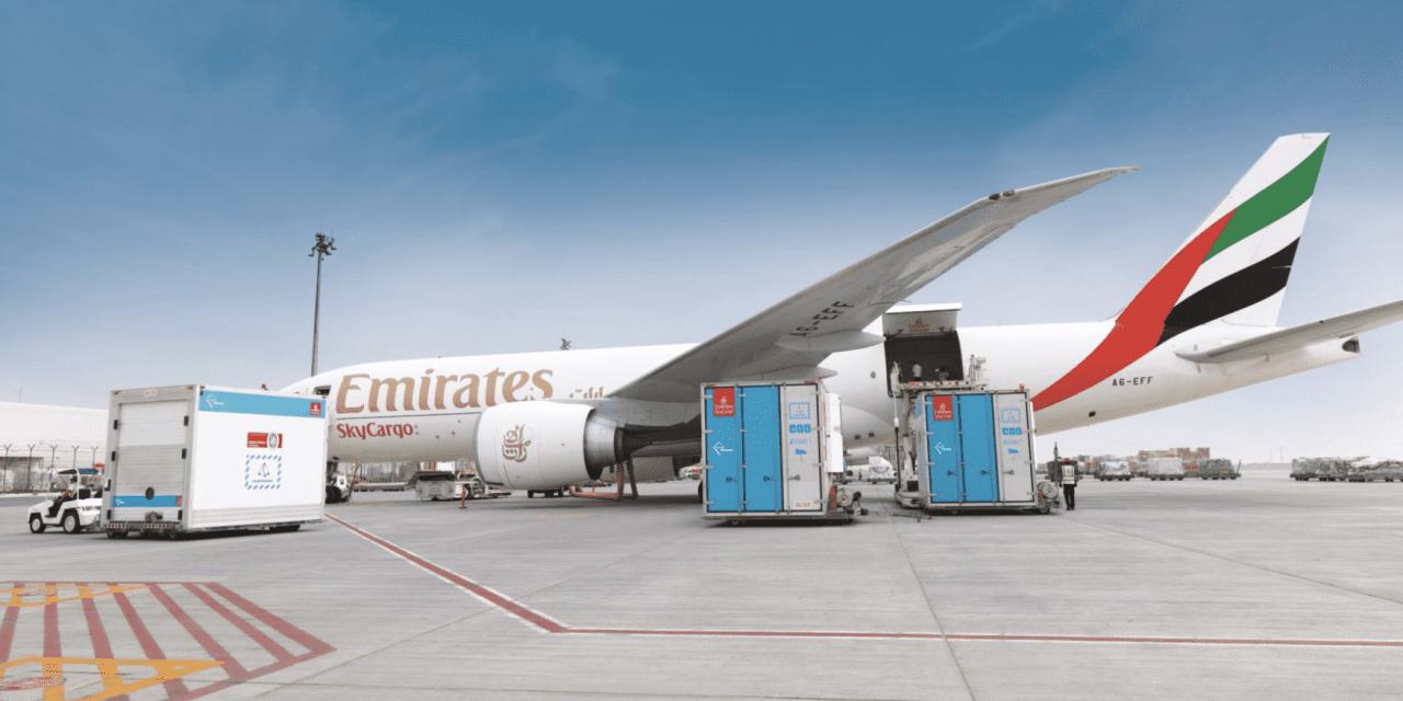 نقاط عطف دارویی بیشتر برای SkyCargo امارات